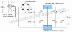 6v Dual Power Supply Circuit Diagram