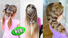 10 cute back to school hairstyles for little girls youtube