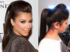inspired ponytail with a puff youtube