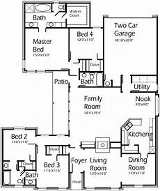 2400 square foot house plans 2400 sq ft 1 story house plan house plans courtyard