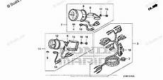 honda outboard parts by year 2007 and later oem parts diagram for trim meter tachometer