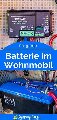 Batterie Im Wohnmobil Ratgeber F 252 R Versorgungsbatterien
