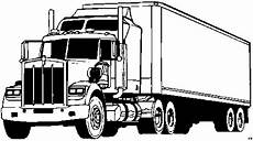 kleurplaat vrachtauto volvo vrachtauto s kleurplaten