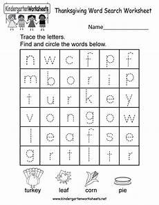 thanksgiving word search worksheet free kindergarten holiday worksheet for kids
