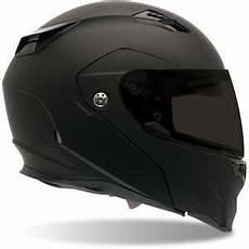 bell revolver matte black evo modular motorcycle