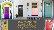5 tips to get it right when choosing the external colour scheme for your home