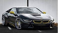manhart racing gives the in hybrid bmw i8 some