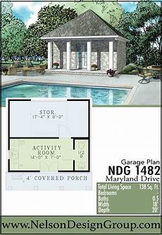 garage pool house plans garages houseplans homeplans poolparty summer pool