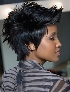 Spiky Black Hairstyles