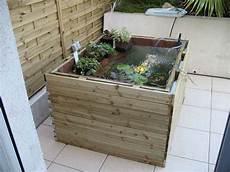 bassin de jardin hors sol en kit bassin de jardin