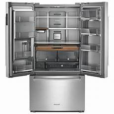 Kitchenaid Refrigerator by Kitchenaid Krfc704fss 36 Quot Counter Depth Door