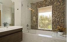 mosaic tile bathroom ideas wave glass mosaic tile shower wall contemporary