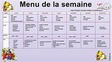 régime pas cher menu equilibr 233 regime pour semaine coach nutrition et