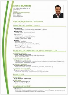 presentation cv 2017 cv th 233 matique comment rediger un cv