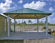 Steel Frame Single Roof Forestview Square Pavilions