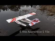 e flite eflite apprentice s 15e with floats