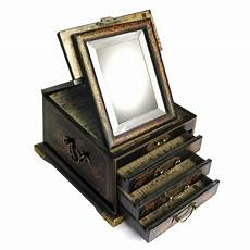 boite 224 bijoux avec miroir biseaut 233 bo 238 tes 224 bijoux