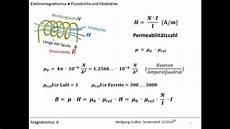 elektromagnet berechnen online 9 magnetismus 6 flussdichte und feldst rke in formeln