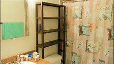 Ikea Molger Bathroom Shelving Unit Assembly Detailed