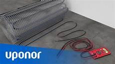elektrische fußbodenheizung lebensdauer uponor comfort e elektrische fu 223 bodenheizung kabelmatte