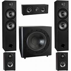 5 1 soundsystem weiß t652 5 1 home theater surround sound speaker system with