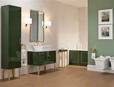 Transitional Green Bathroom Vanities bathroom high end vanity wood in forest green lacquer