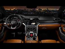 New 2018 Lamborghini Urus Interior