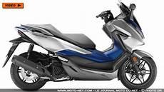 125 Nouveau Scooter Forza 125 2019 Honda Relance La