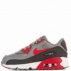 nike grey white air max 90 ltr ps