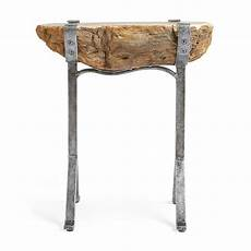 Petrified Wood Accent Table So That S Cool