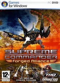 supreme traduzione supreme commander forged alliance patch fr