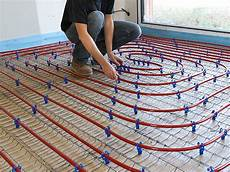 plancher chauffant renovation pose plancher chauffant la baule gu 233 rande installation