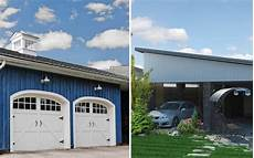 2 Garage Doors Vs 1 by Garages Vs Carports Which Is Best For You Integrity