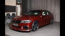 aventurine red ac schnitzer bmw 5 series m550i g30 2018