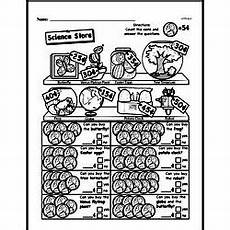 money word problems worksheets 1st grade 11201 free grade money math pdf worksheets edhelper