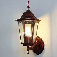 exterior wall sconce outdoor decorative lighting glass wrought iron