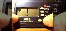korg metronome ma 30 how to use a korg ma 30 metronome 171 percussion
