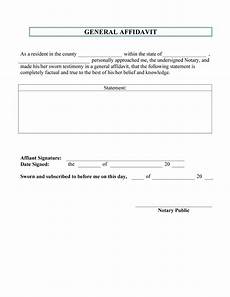 48 sle affidavit forms templates affidavit of support form free template downloads