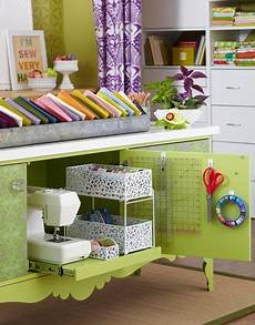 17 inspirational sewing room organizing ideas