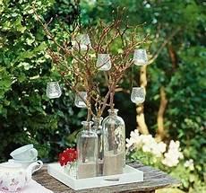 blumenkübel selber dekorieren kerzenleuchter aus der natur den kandelaber kann ganz