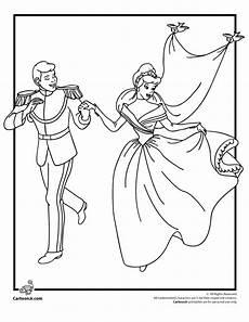 cinderella s wedding coloring page woo jr activities