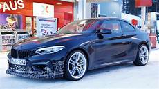 2020 bmw m2 cs spied up playing in snow autoblog
