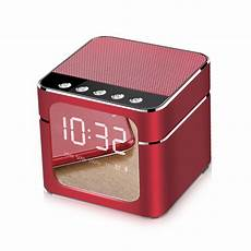 Bakeey Wireless Bluetooth Speaker Display Alarm by Bakeey Q5 Wireless Bluetooth Speaker Digital Alarm Clock