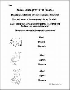 animal migration worksheets 14057 animal adaptation worksheet grade science migration and seasonal patterns abcteach