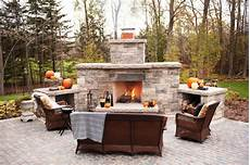 An Outdoor Fireplace Installed Be Sure To Consider