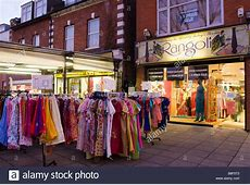 Rangoli Indian Clothes shop Wembley north London Stock