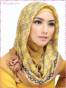 9 Model Jilbab Terbaru Pilihan Untuk Ramadhan Dan Lebaran 2018