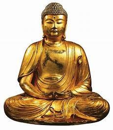 Hand Gilded Buddha Sculpture Quot Amitabha Quot Art Castings
