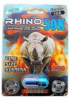 rhino 50k extreme men sexual supplement enhancement 3