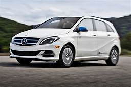 2014 Mercedes Benz B Class Electric Drive In White Front